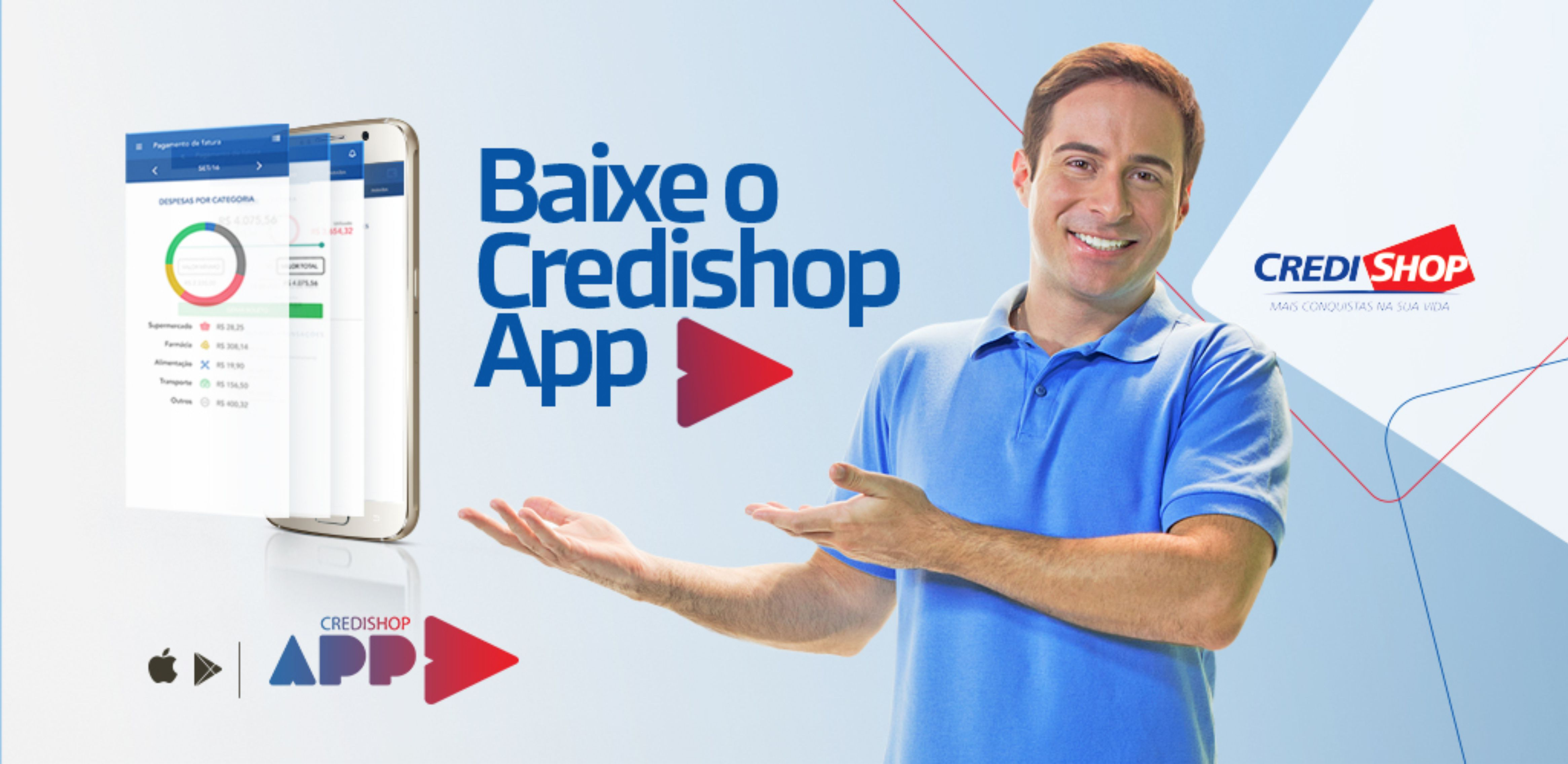 Lançamento Credishop APP
